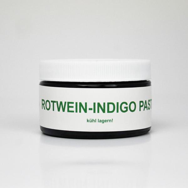Rotwein-Indigo Paste
